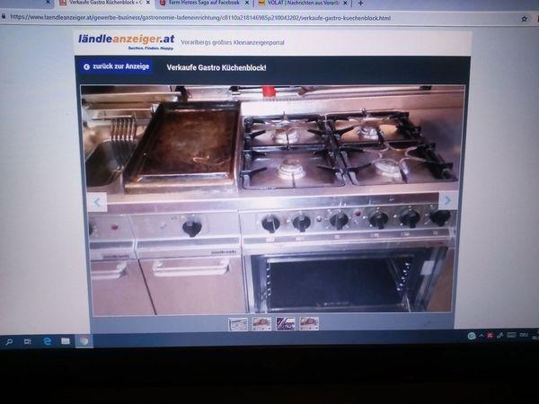 Verkaufe Gastro Küchenzeile