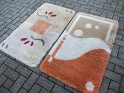zwei Badteppiche 70 x 120