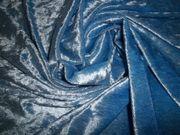 Samt Stoff Hellblau 250 x