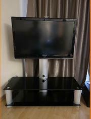 Fernsehkommode Sideboard schwarz optional mit