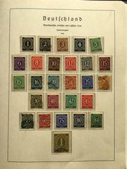 große Briefmarkensammlung von Großeltern Deutschland