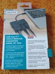 Digitus USB-C auf HDMI DisplayPort