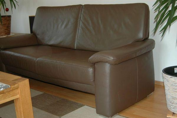 Zu Verschenken - Leder Couch - Neuwertig