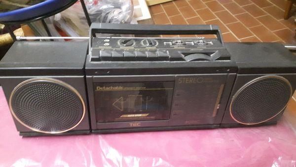 Tragbarer Radio Cassettenrecorder für 8