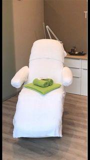 Ionto Kosmetikliege mit Sitzheizung zu
