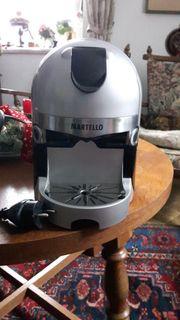 Martello Kaffeekapselmaschine mit 50 Kapseln