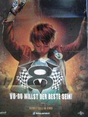 V8 seltenes Kino-VA Orginal Plakat