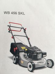 RMV WB456SKL Benzin Rasenmäher mit