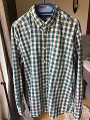 Tommy Hilfiger Hemd grün blau