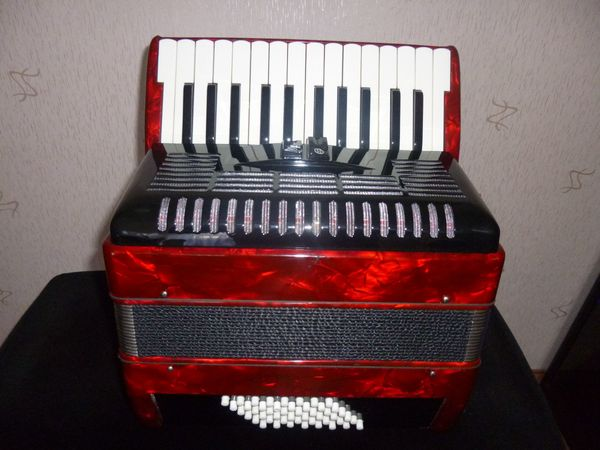 Akkordeon neu 48 Bass mit