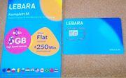 Anonyme Lebara Prepaid SIM-Karte