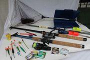 Angelausrüstung Forellensee Angler 3 Angelruten