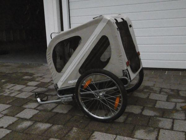 Fahrrad-Anhänger Hundetransport Typ Croozer Dog