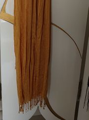 3 Schals Tücher - ocker regenbogen
