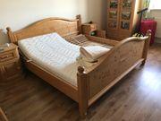 Grosses Doppelbett Bett incl 2