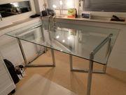 Glastisch italienisches Design Esstisch Schreibtisch