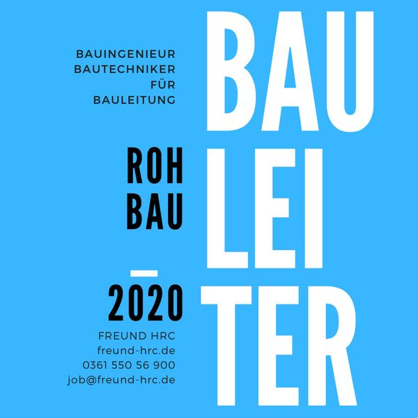 BAULEITER Hochbau Thüringen a g