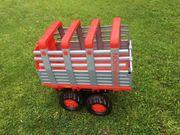 Heuladewagen für Tretkraktor
