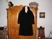 Persianer-Mantel schwarz wenig getragen Gr