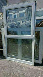 7 Wintergartenelemente Fenster mit Unterlicht