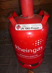 Propan Gasflasche Pfandflasche rot 11