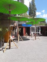 Bambus Sonnenschirm