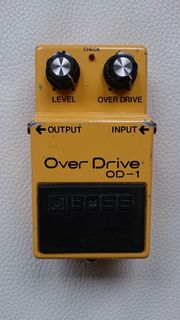 Gitarrenpedal Boss Over Drive OD-1