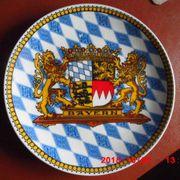 Alter Souvenirteller v Bayern