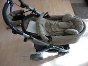 Teutonia Kombi-Kinderwagen-Set Komplett Buggy und