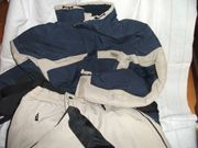 Ski-Anzug Größe M beige-blau