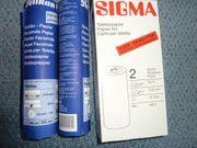Thermofax-Papierrollen