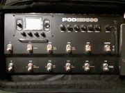 Gitarren Multieffektgerät HD Pod 500