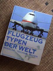 Buch über Flugzeugtypen der Welt