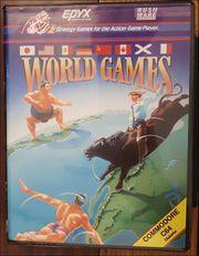 World Games - Commodore 64 - Diskette