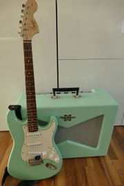 E-Gitarre The Surf Green Set