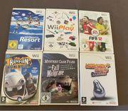 6 Spiele für die Wii