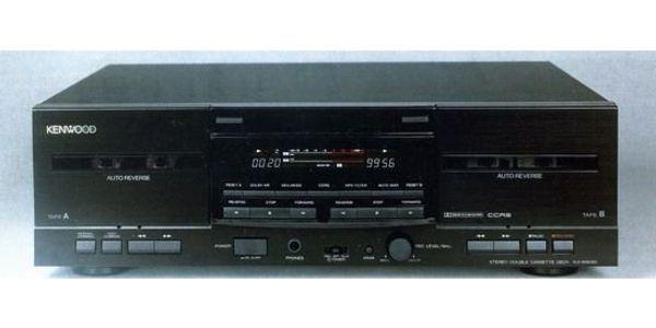 Kenwood KX-W4080 HiFi-Stereo Doppel Kassetten