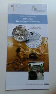 4 x 10 Euro Silber -