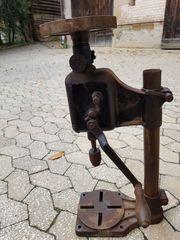 Tischbohrmaschine Ständerbohrmaschine antique Stauffer System