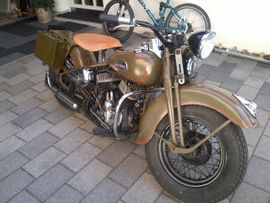 Harley WL WLA750: Kleinanzeigen aus Schwarzenberg - Rubrik Harley-Davidson