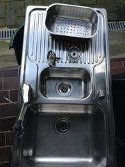 Küchenspüle von Blanco mit Mischbaterie