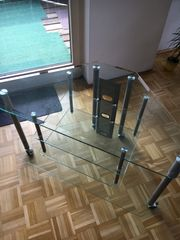Glastisch für Fernseher