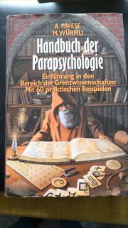 Handbuch der Parapsychologie - Pavese Würmli -