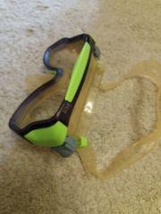 Tauchbrille von Mares in Neon-Grün