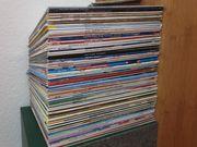 Schallplattensammlung ca 100 Vinyl Schalplatten