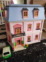 Playmobil dollhouse und viel zubehör