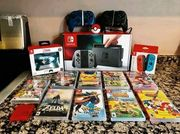 Nintendo Switch Rot Blau 128