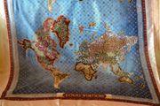 Louis Vuitton Seidenschal Weltkarte 180