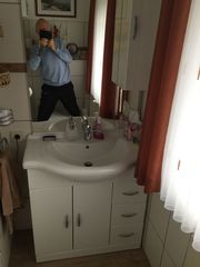 Waschplatz incl Mischbatterie