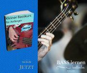 Einsteigerkurs Bass lernen